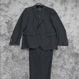 John Varvatos Black Slim Fit Suit